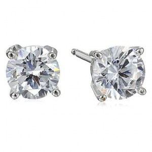 479-Amazon-Collection-Platinum-Plated-or-Gold-Plated-Sterling-Silver-Round-Cubic-Zirconia-Stud-Earrings-for-Women-1